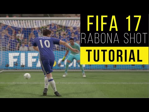 FIFA 17 Rabona shot Tutorial (Xbox One, PS4, PC) Animated Controllers