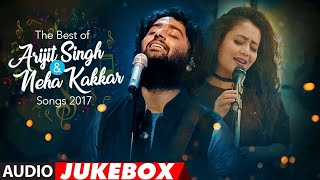 The Best Of Arijit Singh & Neha Kakkar Songs 2017 (Vol. 2) | Audio Jukebox | T-Series