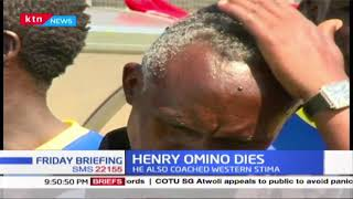 Kenyan Football Coach Henry Omino passes on