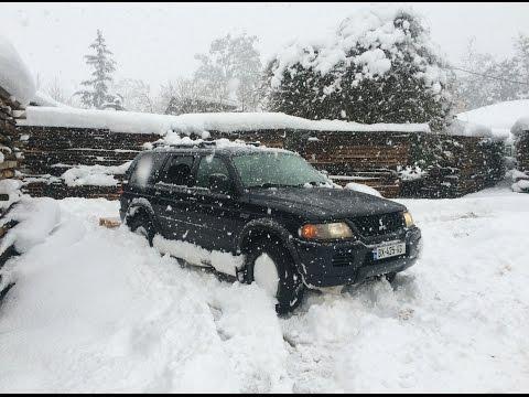 Extreme Deep Snow Off Road 4x4 ~ Mitsubishi Montero Sport/Georgia - 2016