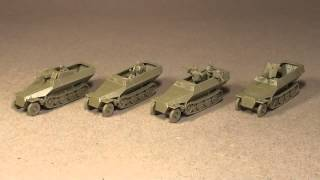 Review: Conversion kit  for German SdKfz 251 Halftrack   Plastic Soldier Company   Flames of War