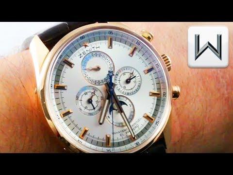 Zenith El Primero Perpetual Calendar 50 Pieces (18.2180.4003/01.C713) Luxury Watch Review