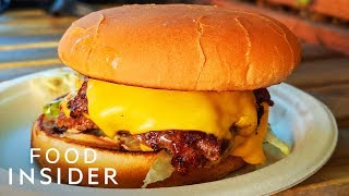 The Best Cheeseburger In LA Sells Out Every Weekend | Line Around The Block