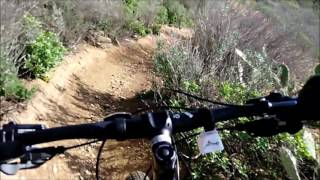 Watch this video to see a POV descent along the Cactus and Conqueror trails.