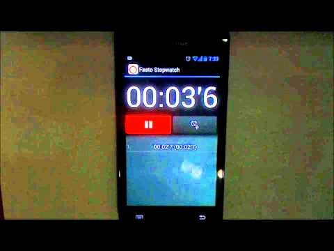 Video of Fasto Stopwatch