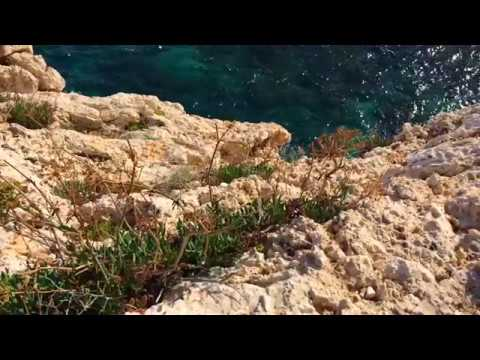 Rocks and sea. Cyprus. Скалы и море. Кипр.
