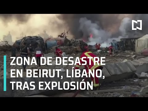 Video: Tremenda explosión en Beirut, Libano, mirá el video!