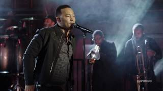 """John Legend - """"What You Do To Me"""" Live From Pandora"""