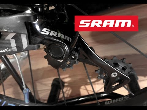 0e449f8eccf SRAM 11 and 12 Speed Rear Derailleur Basic Maintenance NX GX X1 X01 XX1 play