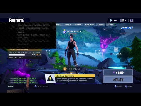 Fortnite Live PS4 Sky Portal Opening | Best Sniper PS4 | Decent Console Player | Solo Grind Mp3