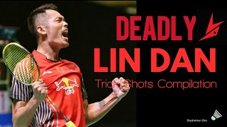 GOD OF BADMINTON | LIN DAN | TRICK SHOTS COMPILATION