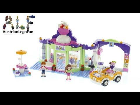 Vidéo LEGO Friends 41320 : Le magasin de yaourt glacé