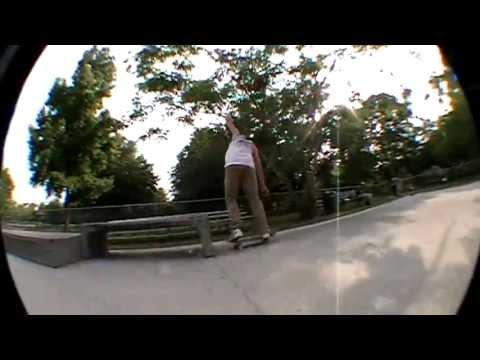50-50 180 Out! Ackerman Skatepark Sesh