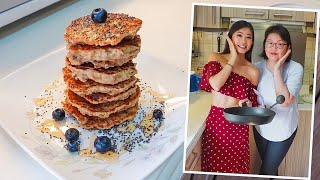 4-Ingredient Healthy Pancake Recipe for Weight Loss (no flour!) by Mama Wong ~ Emi