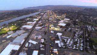 preview picture of video 'Wenatchee Sunset Flyby'