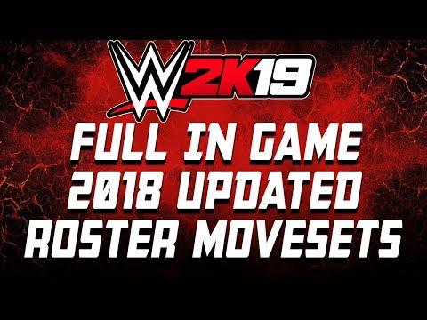 WWE 2K19 Becky Lynch Updated Moveset - смотреть онлайн на