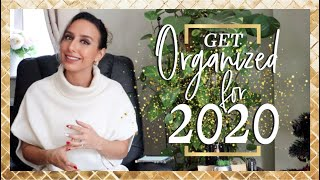 How To START ORGANIZING YOUR LIFE In 2020