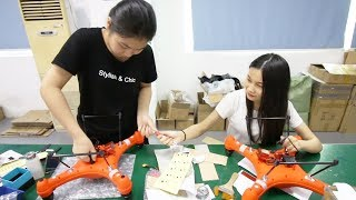 Inside a Drone Factory in China. What's it like?