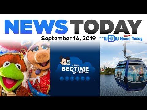 Skyliner Views, Entertainment Cuts, Character Good Night Calls - News Today 9/16/19