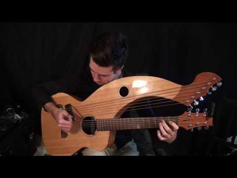 , title : 'Hotel California (Eagles) - Harp Guitar Cover (arr. T. Bowman/Tomi Paldanius) - Jamie Dupuis'