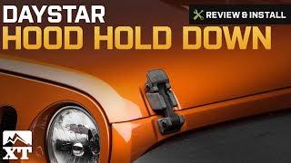 Daystar Hood Latch Upgrade Red for Jeep Wrangler JK 2007-2017