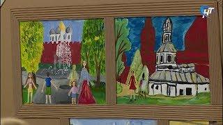 Начинающие живописцы  представили выставку в музее изобразительных искусств
