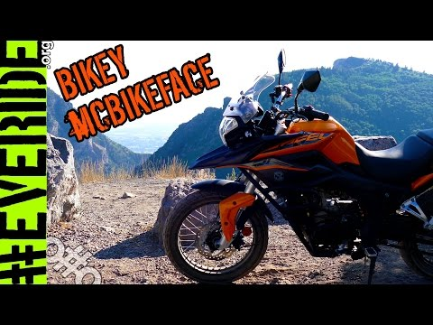 "NEW CHINESE ""DUAL SPORT"" MOTORCYCLE REVEAL! Zongshen CSC RX3 Cyclone 250 #everide"