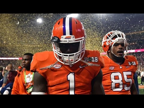 Clemson Football || The Journey || 2016-17 Season Highlights