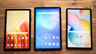 Vergleich: Lenovo Tab P11 vs. Samsung Galaxy Tab A7 & S6 Lite