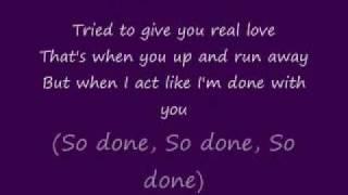Monica - Stay or Go ( With Lyrics)