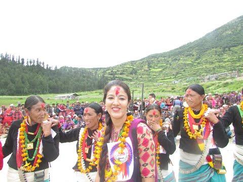 New खतरा deuda of Pansara Thapa and Aka Karki पानसरा र अककाे खतरा नयाँ देउडा, सिमकोट, हुम्लाको।