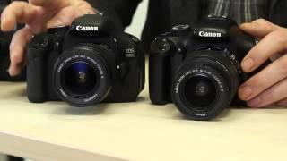 EOS 1100D - Vergleich zur 650D + Spiegellose