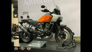 PanAmerica Harley-Davidson new Adventure Touring 2020