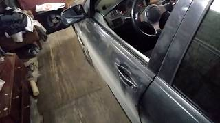 Левая передняя дверь после ремонта