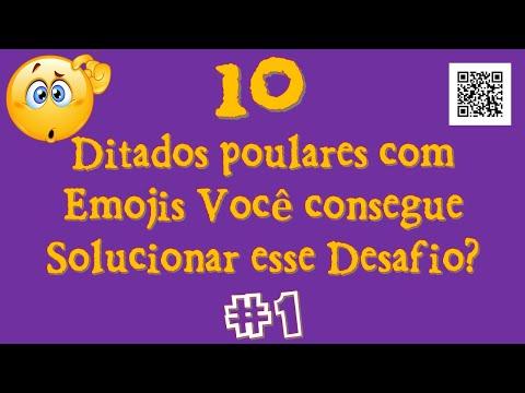 CHARADA DITADOS POPULARES COM EMOJIS #1