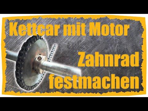Kettcar mit Motor #06 Zahnrad auf der Achse befestigen | KettcarTuner