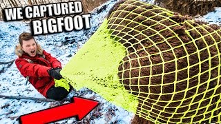 BIGFOOT CAPTURED & EXPOSED!! Advanced Spy Trap Gadgets (Sasquatch)