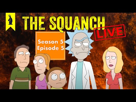 """Clive Barker's Cringe """"Amortycan Grickfitti"""" (S05E05) - The Squanch"""