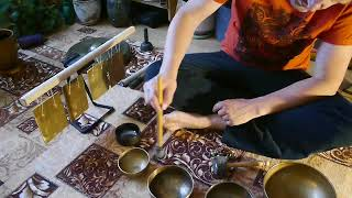 Исцеляющие Вибрации Поющих Чаш - Тибетские чаши ☸ Канал школы Звукотерапии