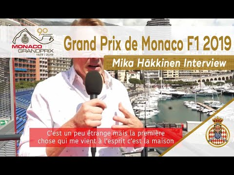 Mika Häkkinen Interview - 90th Anniversary Monaco Grand Prix