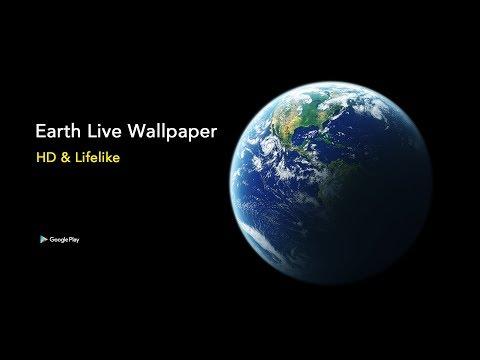 Rotating Earth Wallpaper Hd Free Android App Appbrain