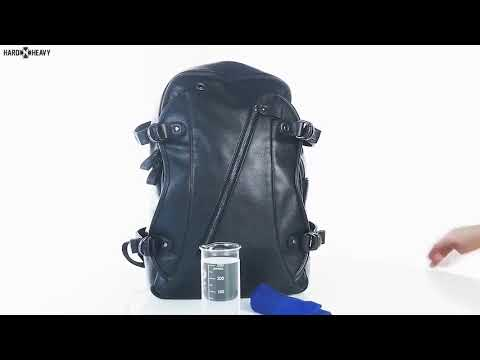 Rock Style Backpacks with External USB Charge