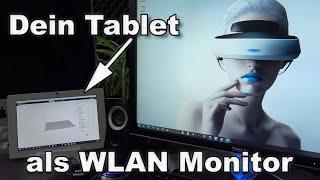 Tablet als WLAN Monitor