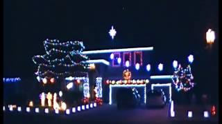 Santa Claus is COming on a Boogie Woogie Choo Choo Train