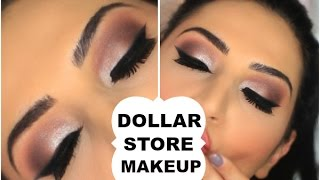 Dollar Store Makeup Challenge | Full Face | - Video Youtube
