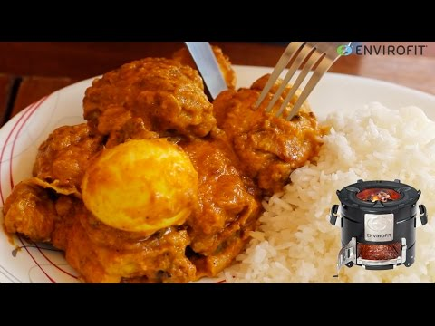 How to make Swahili Coconut Chicken with eggs   Chef Ali Mandhry