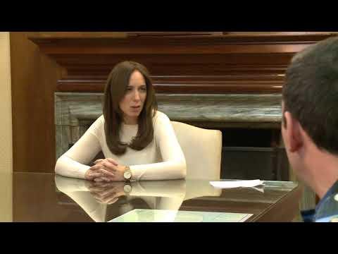 Video. Vidal recibió a policías y personal de Casa de gobierno heridos durante la represión a la marcha de Astillero