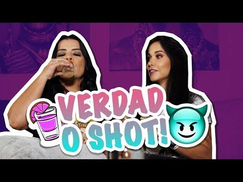 VERDAD O SHOT ! REGRESARIA CON MI EX? 🤭 | Andreina Alvarez y Johanna