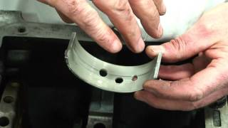 Crankshaft Bearing Roll-in