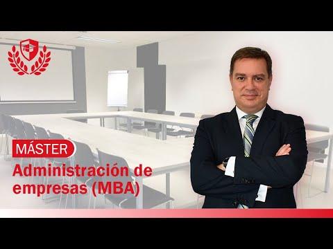 Máster en Administración de Empresas (MBA) de Máster en Administración de Empresas (MBA) en Mediterránea Business School
